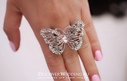 Красивые кольца своими руками фото