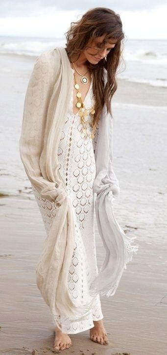 Платье для пляжной свадьбы 47