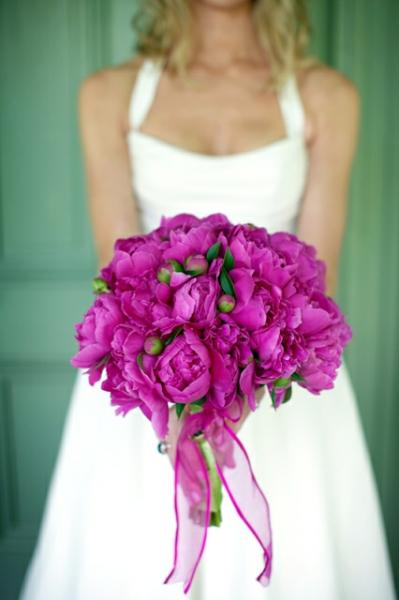 Фото свадебные цветы из пионов