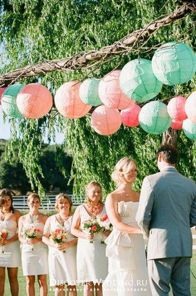 Фонарики для свадьбы своими руками