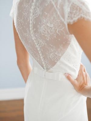 Свадебные платья с кружевной спинкой