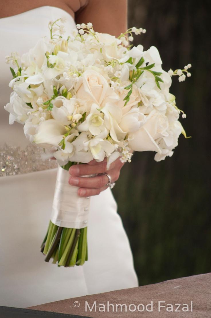 Заказать свадебный букет из ландышей доставка цветов в г дятьково брянской обл