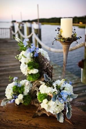 Идеи для свадьбы в морском стиле в