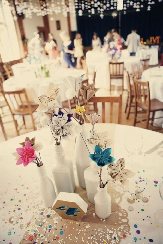 Origami Centerpieces Wedding Choice Image Decoration Ideas