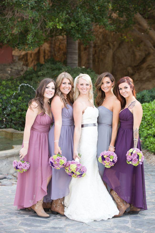 Платья подружки невесты в одном стиле