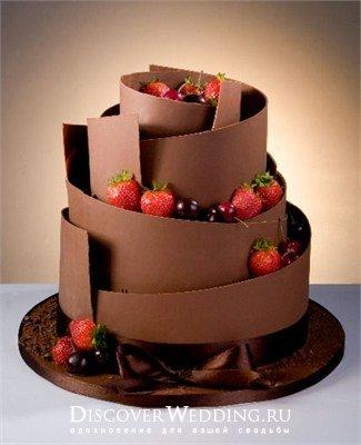 Торты фото оформленные шоколадом