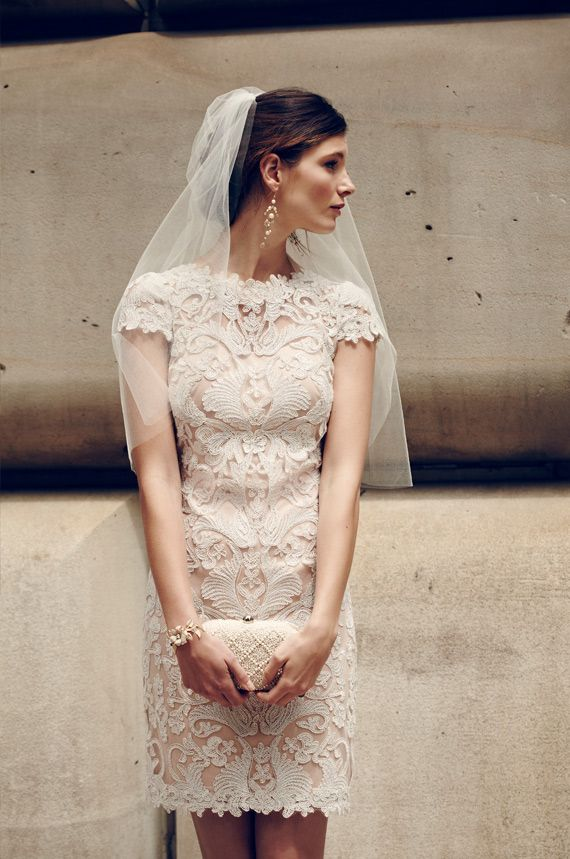 Простые платья на свадьбу для невесты