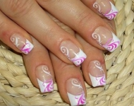 french-manicure-with-lilac-decoration