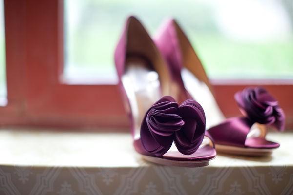 Туфли свадебные цветные