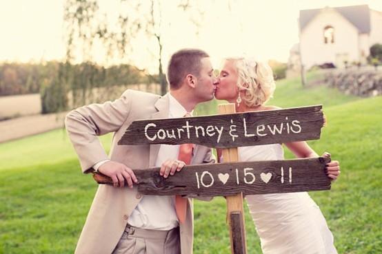 Таблички на свадьбе для фотосессии своими руками