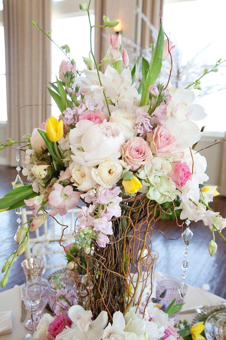 фото композиции цветов весенние из