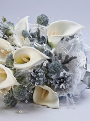 wedding pr kit crafted bouquet