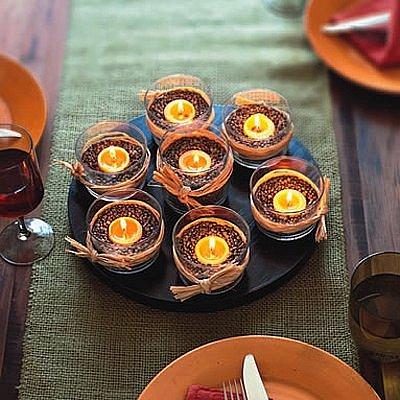 Свечи украшенные лентами своими руками фото 82