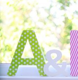 Объемные буквы для фотосессии и декора
