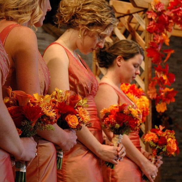 orange203 Красочная осенняя свадьба