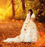 Красочная осенняя свадьба