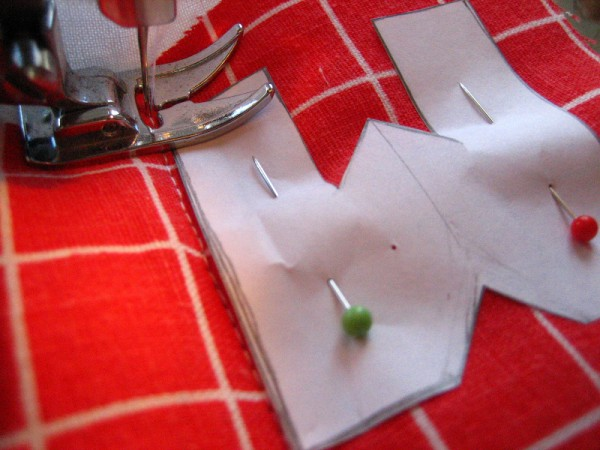 Как сшить буквы из ткани объемные своими руками