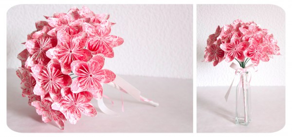 non_floral_wedding_bridal_bouquet_DIY_origami_flowers_pink_paper