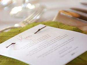 приглашение эко свадьба