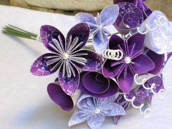 Большой красивый цветок своими руками из бумаги