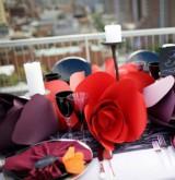 Оформляем свадьбу стильными бумажными цветами