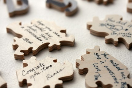 wedding guest book puzzle2