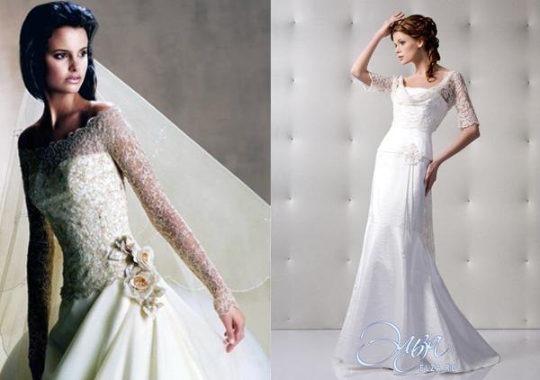 короткие платья с длинным рукавом фото