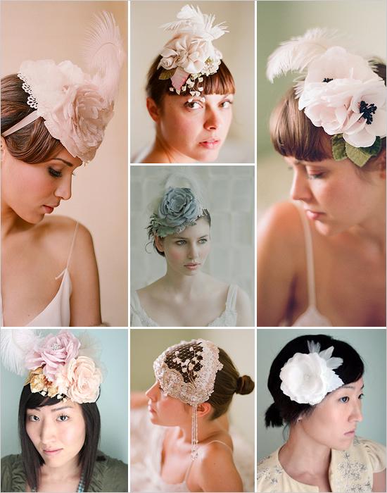 цветы из ткани для прически невесты мастер класс