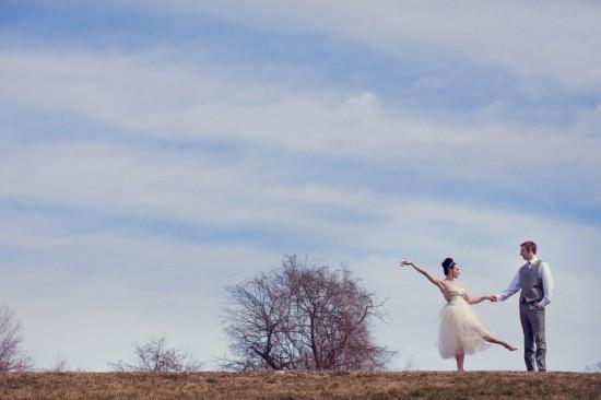 тематическая свадьба балет невеста балерина