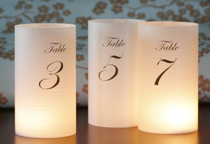 ETSY Listing 48049008 illuminated table numbers