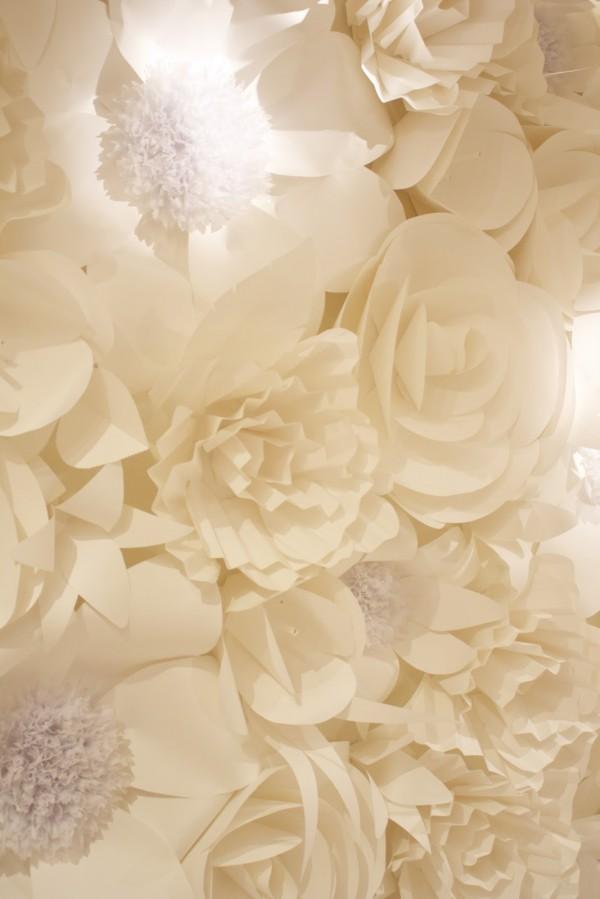 Из какой бумаги делают цветы для декора свадьбы