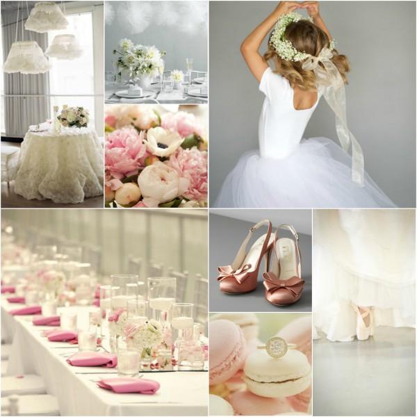 свадьба в розовом цвете тематическая балет