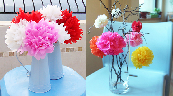 Как сделать бумажные цветы фото 706