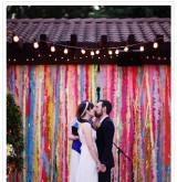 Гирлянды для украшения свадьбы своими руками