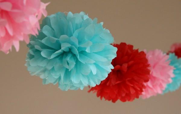 Как сделать шары из бумажных салфеток