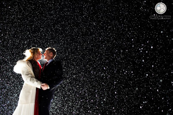 Sun valley winter wedding