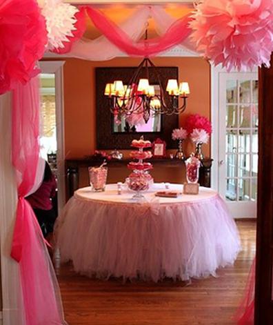 юбка для свадебного стола из фатина мастер-класс