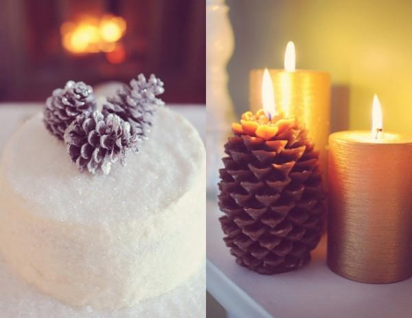 zimnaya-svadba-svechi-podsvechnik-iz-shishki