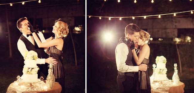 Ретро свадьба по мотивам фильма воды