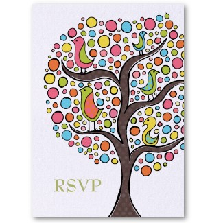 rainbow_bird_tree_wedding_rsvp_cards_business_card-p240226550982920753wz8n_325