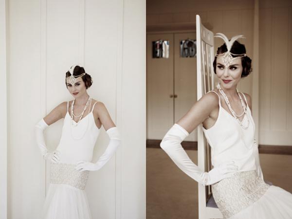 Изображение Изображение Аксессуары для ретро-невесты 20-х годов. Изображение 34b3af33f67