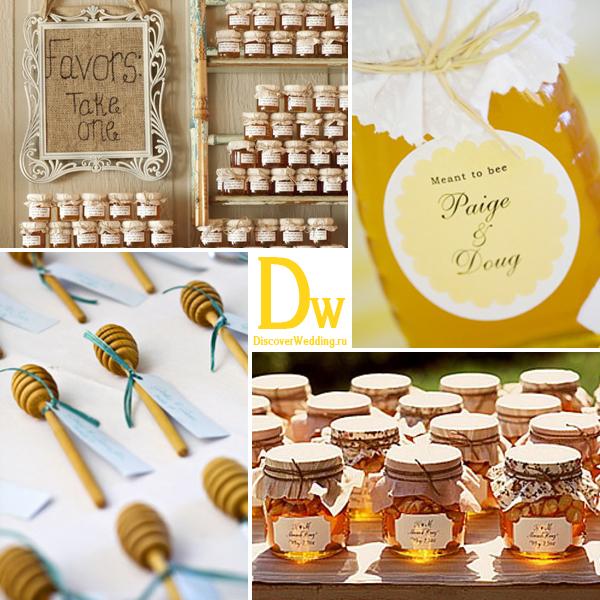 Мёд в подарок на свадьбу 81