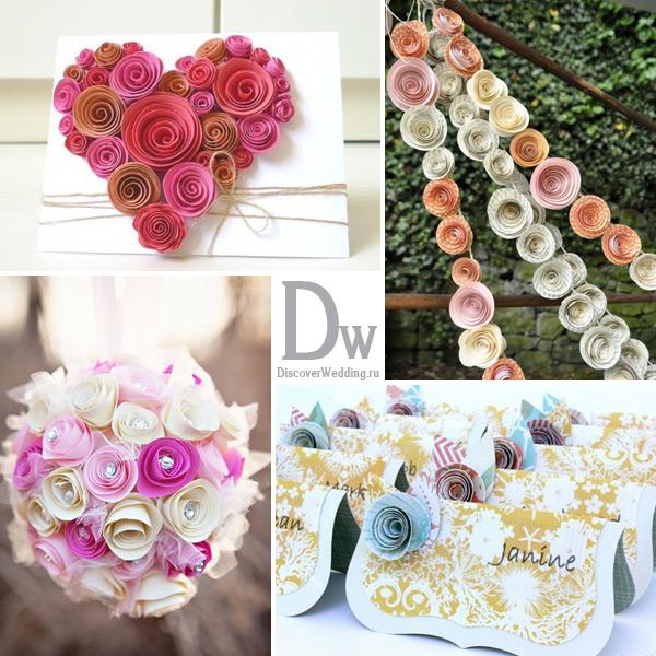 Цветы на свадебный стол своими руками мастер класс