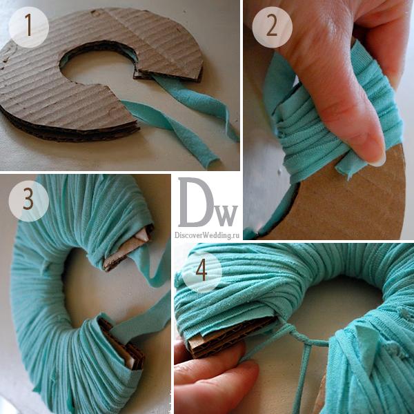 Как сделать помпон из ткани