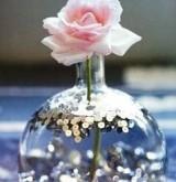 Пайетки и блестки в оформлении свадьбы