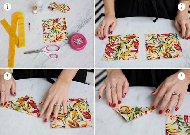 Как сделать из бумаги галстук бабочку своими руками