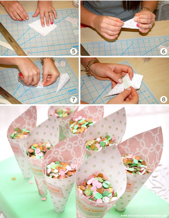 Как сделать из бумаги с попкорном 57