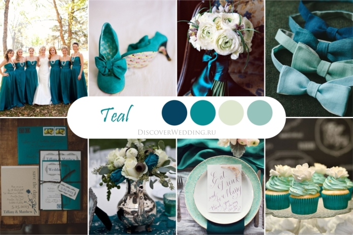 Сочетания цветов на свадьбу фото