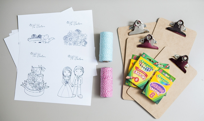 SomethingTurquoise-DIY-free-kids-coloring-sheets-wedding-clipboard_0002