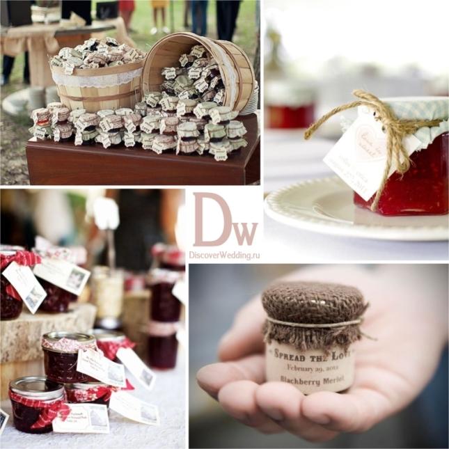 Идеи сладких подарков гостям 17